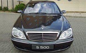 2001 Mercedes S 500