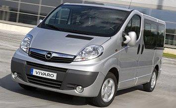 2008 Opel Vivaro 8+1