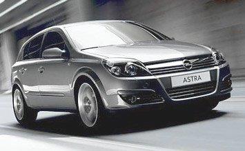 2007 Opel Astra Hatchback