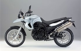 2008 BMW 650 GS motorbike hire in Croatia