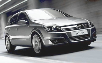 2008 Opel Astra Hatchback AUTO