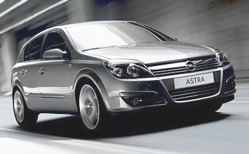 2008 Opel Astra Hatchback