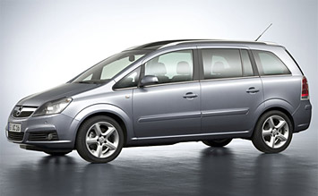 2008 Opel Zafira 5+2 New