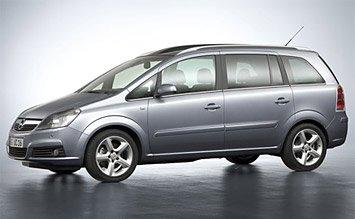 2008 Опел Зафира 6+1 Auto