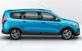 2016 Dacia Lodgy 5+2 seats