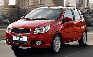 2009 Chevrolet Aveo Hatchback