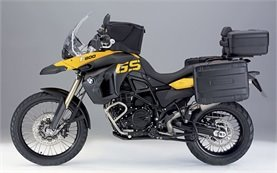 2011 БМВ F800 GS мотоциклет под наем в Румъния
