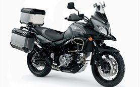 2012 Сузуки В-Стром 650 ABS мотоциклет под наем в Гърция