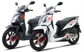 2012 SYM Symphony 125cc - scooter rental Barcelona