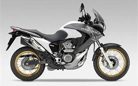 2013 Хонда Трансалп 700cc мотоциклет под наем в Крит - Гърция
