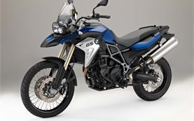 2016 BMW F800 GS rent a motorcycle in Sardinia