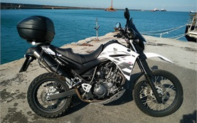 2016 Yamaha XT660R Adventure - motorbike rental in Crete
