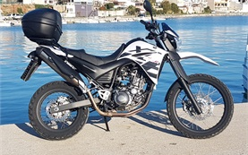 2016 Yamaha XT660R - motorbike rental in Crete