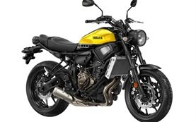 2017 Yamaha XSR 700 - motorbike rental Barcelona