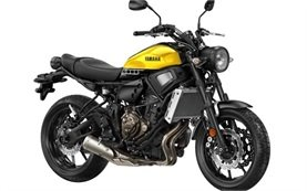 2017 Yamaha XSR 700 - motorbike rental Malaga