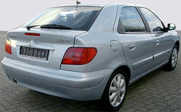Back view » 2005 Citroen Xsara