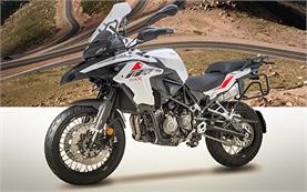 Benelli TRK 502 X - наем на мотоциклет в България