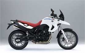 BMW 650 GS TWIN motorbike hire in Crete