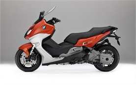 BMW C 650 Sport - scooter for rent at Marseille airport