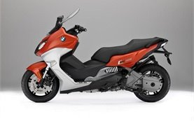 BMW C 650 Sport - scooter for rent in Nice