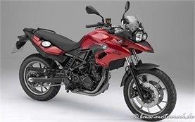 BMW F 700 GS Motorradvermietung Italien