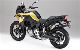BMW F 750 GS motorbike rental in Bari