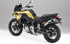 BMW F 750 GS motorbike rental in Crete