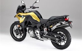 BMW F 750 GS motorbike rental in Geneva
