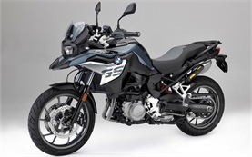 BMW F 750 GS motorbike rental in Rome