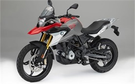 BMW G 310 GS motorbike rental in Nice