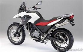 BMW G 650 GS - motorbike rental Milan