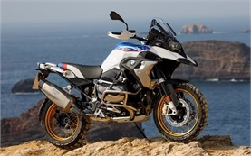 BMW R 1250 GS ADV - Motorrad mieten Rom