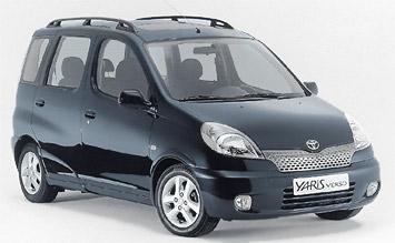 Spiegel Toyota Yaris : Toyota yaris verso fotos