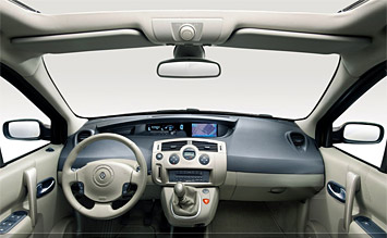 Interior » 2006 Renault Scenic - Fotos