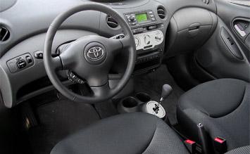 Spiegel Toyota Yaris : Interior toyota yaris verso fotos