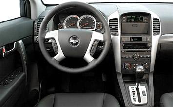 Interieur » 2008 Chevrolet Captiva 5+2 - Fotos
