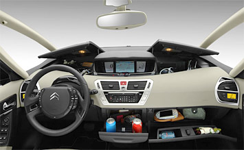 Interior » 2008 Citroen C4 Grand Picasso - Fotos