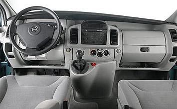 Interior » 2008 Opel Vivaro 8+1 - Fotos