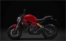 Ducati Monster 797 - motorbike rental Lisbon