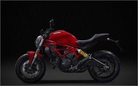 Ducati Monster 797 - motorbike rental Milan