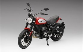 Ducati Scrambler Icon 803  - alquilar una motocicleta en Roma
