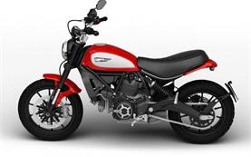 Ducati Scrambler Icon 803 - motorbike rental Barcelona