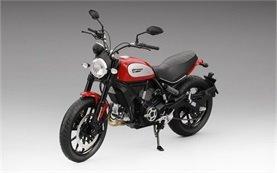 Ducati Scrambler Icon 803 - motorbike rental Florence