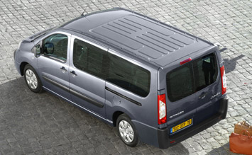 Exterior » Top view » 2007Citroen Jumpy 8+1