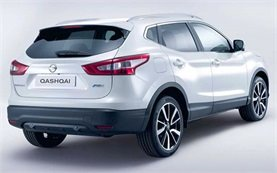Front and rear view - 2016 Nissan Qashqai