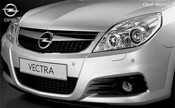 Front design view » 2009 Opel Vectra