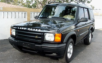 Front view » 2001 Land Rover Discovery