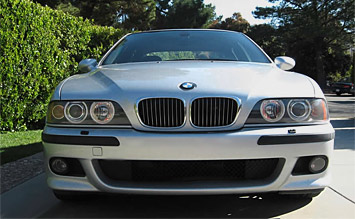 Front view » 2002 BMW 520