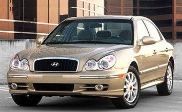 Front view » 2004 Hyundai Sonata