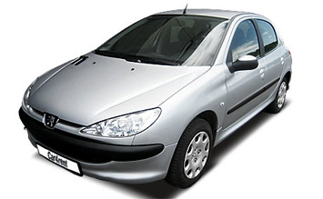 Front view » 2004 Peugeot 206